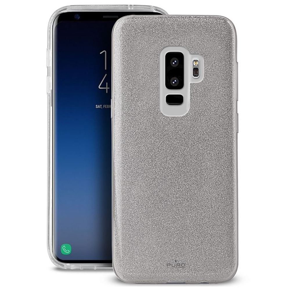 Puro tok Samsung Galaxy S9 telefonhoz ezüst
