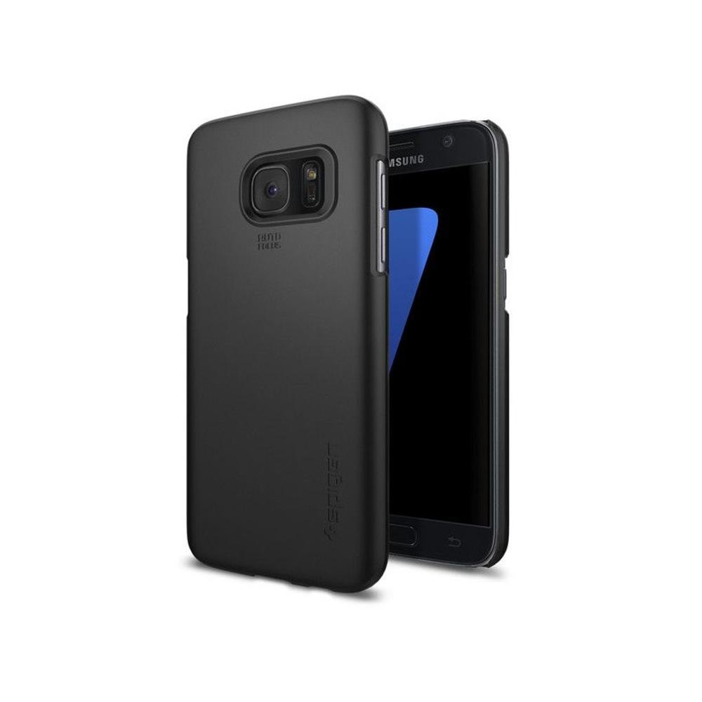 Spigen vékony tok Samsung S7 G930 fekete