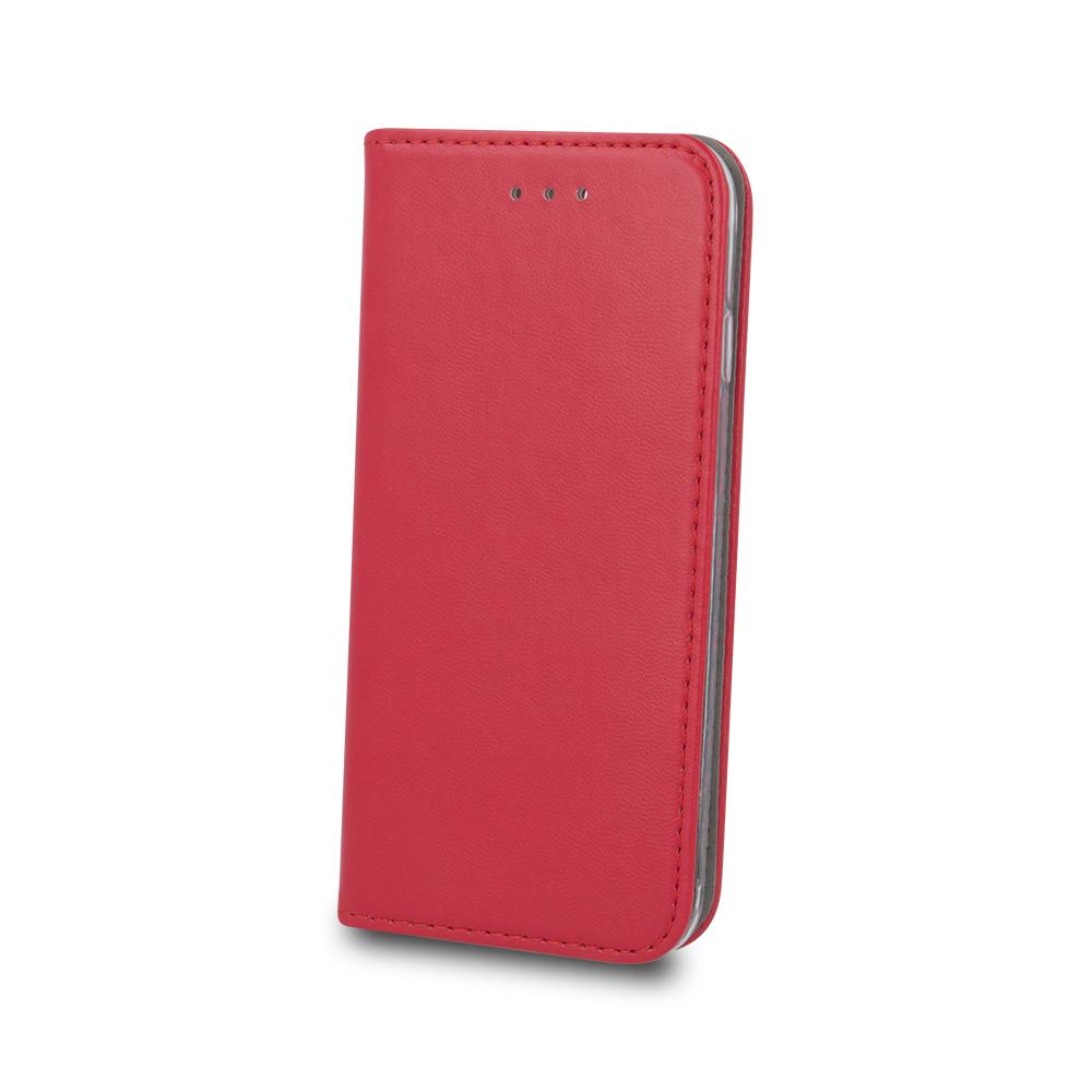 Samsung A50 okos mágneses tok piros