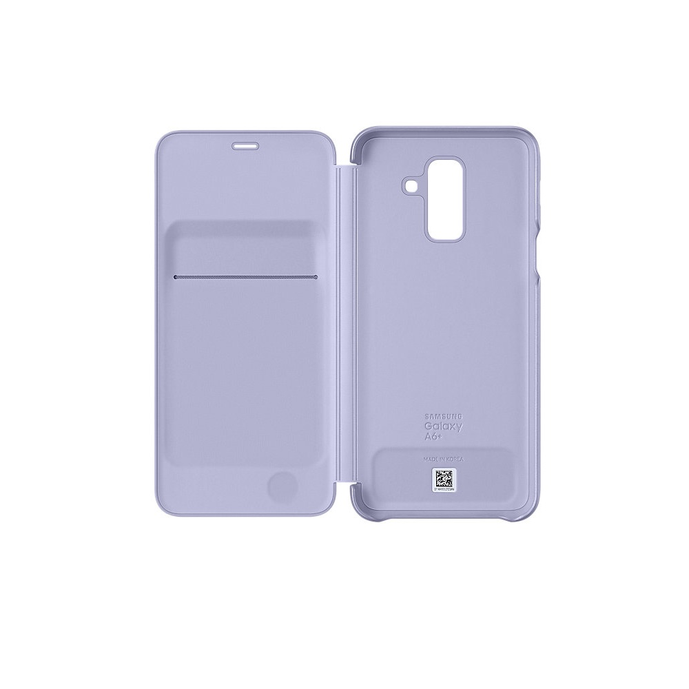 Samsung Wallet Cover case for A6 Plus 2018 purple