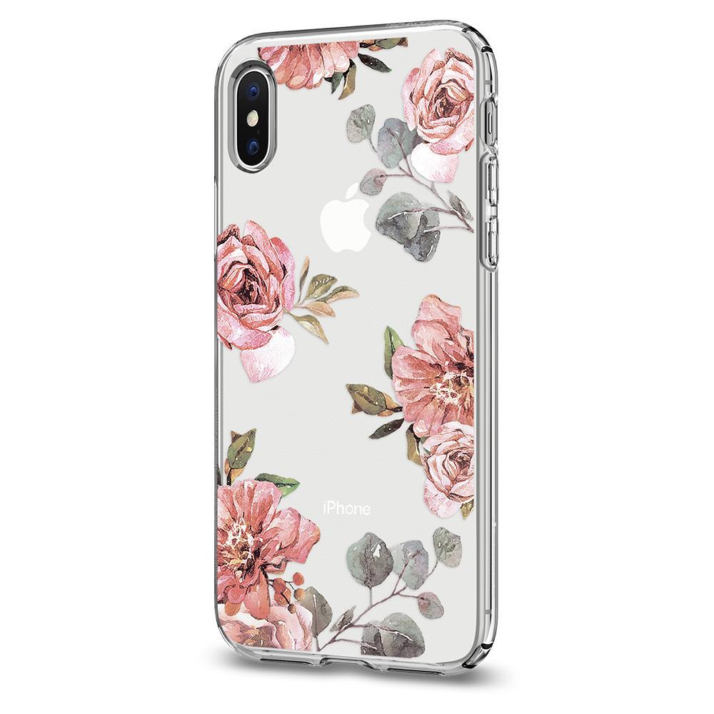 buy popular 6c96f e7a7a Spigen Liquid Crystal for iPhone X/ iPhone XS aquarelle rose