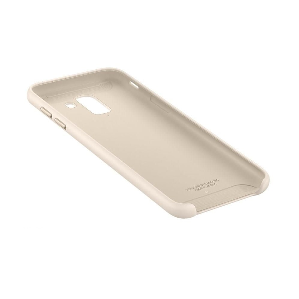 timeless design 362b1 0adce Samsung Dual Layer Cover case for J6 2018 gold