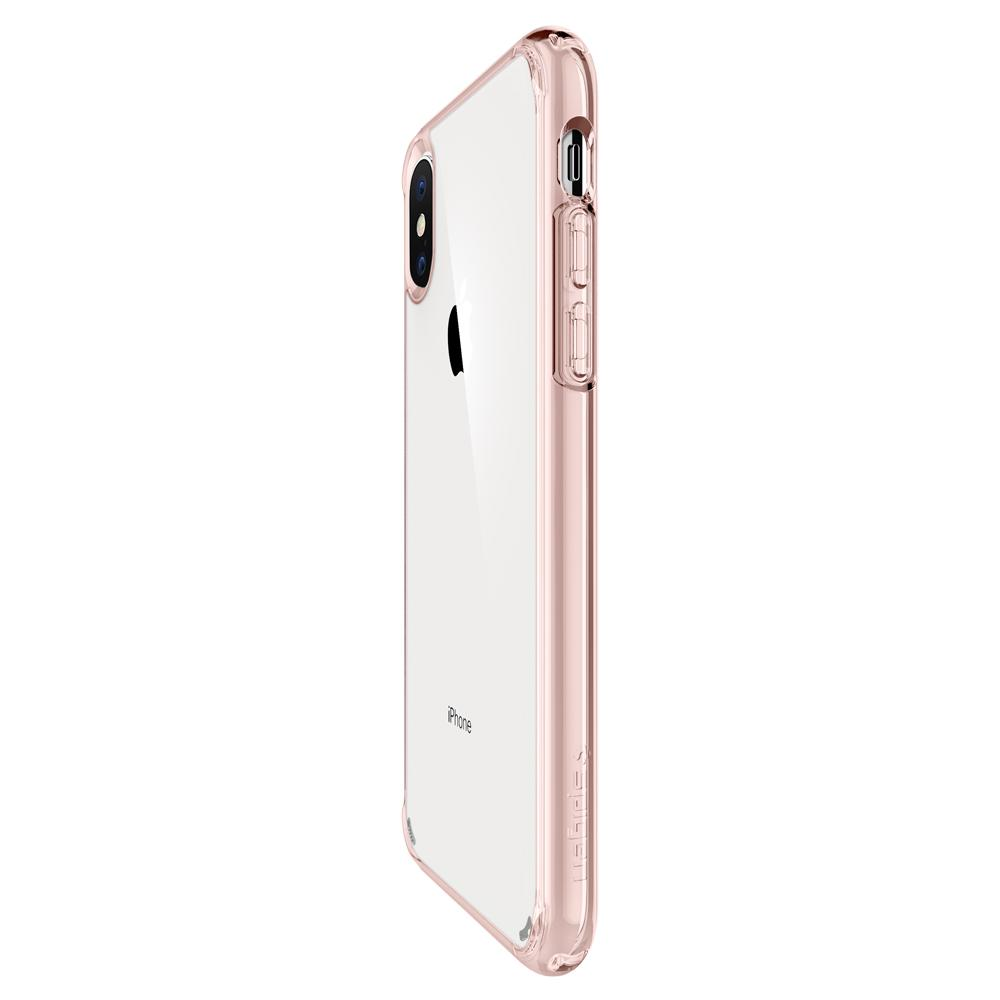 cheaper 6b536 747e9 Spigen Ultra Hybrid for iPhone XS Max rose crystal