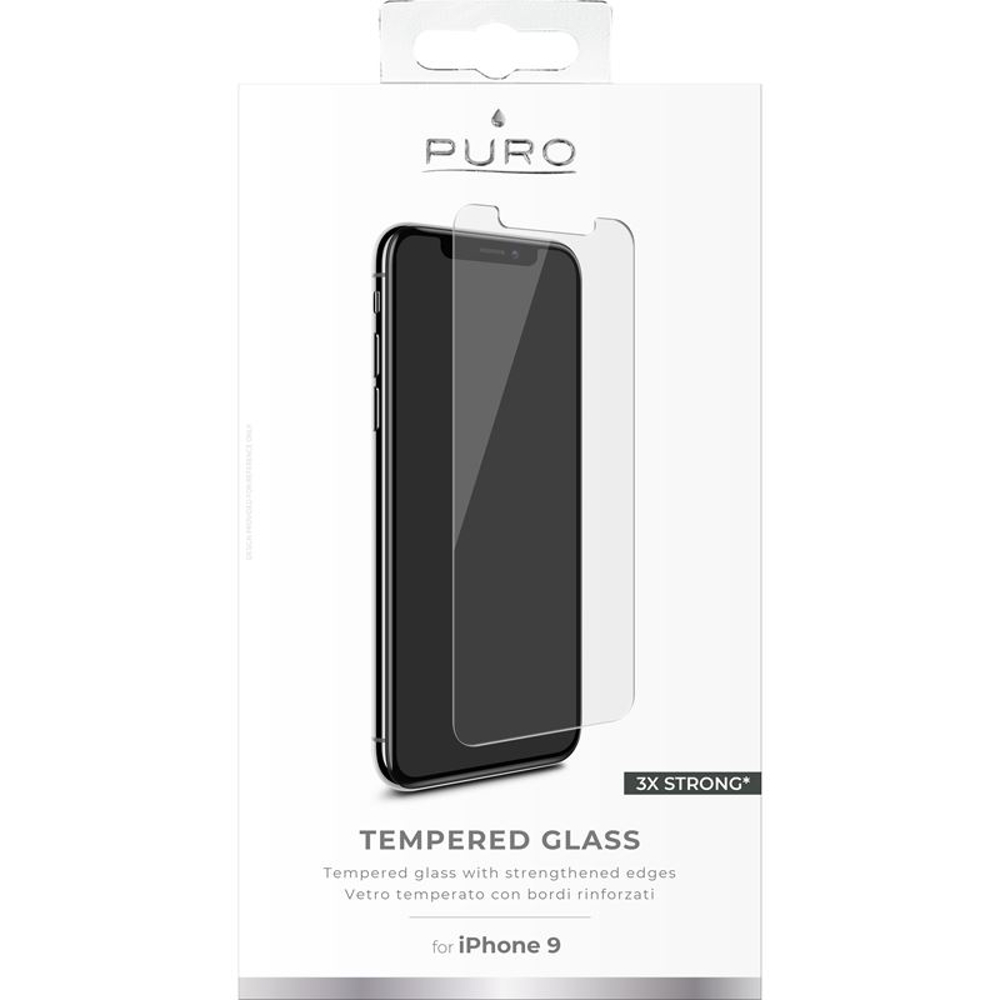 sale retailer edd62 9aa62 PURO Tempered Glass for iPhone XR