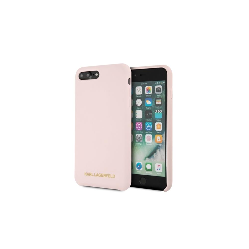 low priced 6c313 fcaef Karl Lagerfeld iPhone 7 Plus/ iPhone 8 Plus KLHCI8LSLLPG light pink ...