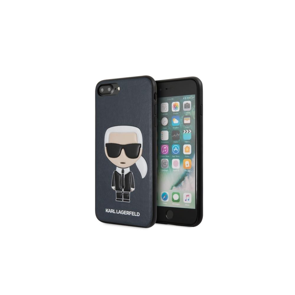 new product c5378 548b9 Karl Lagerfeld iPhone 7 Plus/ iPhone 8 Plus KLHCI8LIKPUBL blue ...