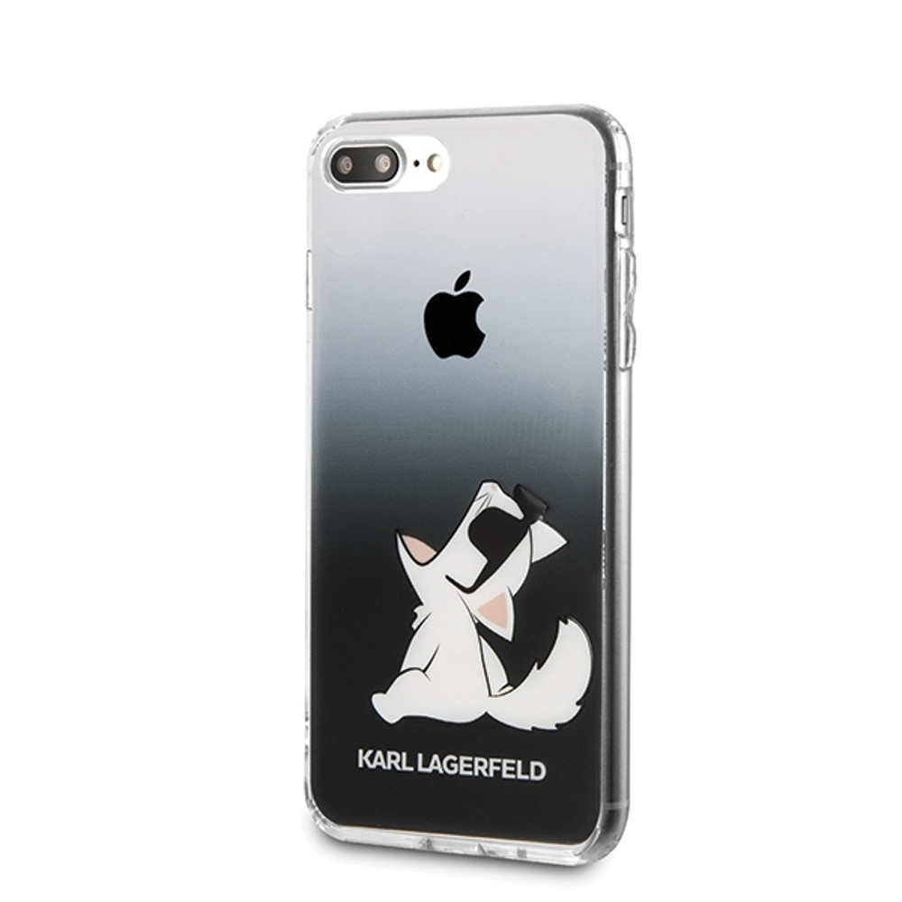 cheap for discount 8e2a4 471b5 Karl Lagerfeld iPhone 7 Plus/ iPhone 8 Plus KLHCI8LCFNRCBK black ...
