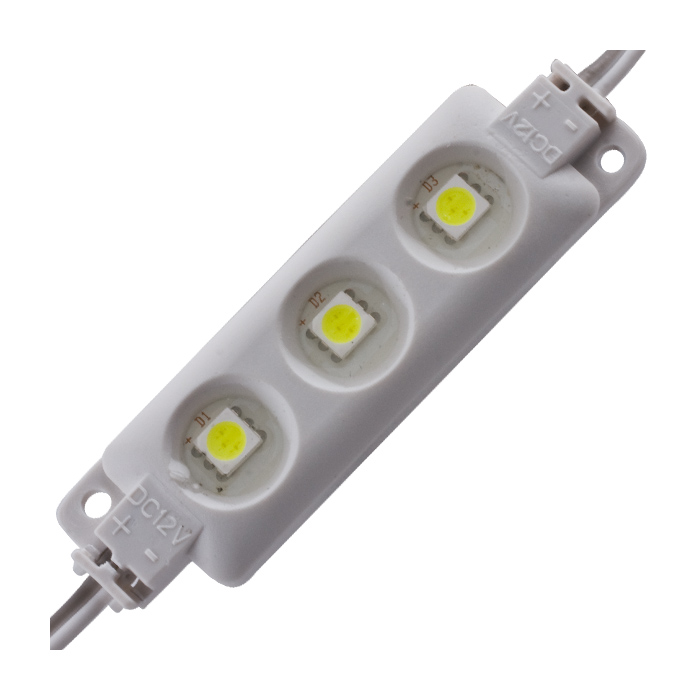 Led Module 3x1 Smd 5050 12 V Blue 20 Pcs