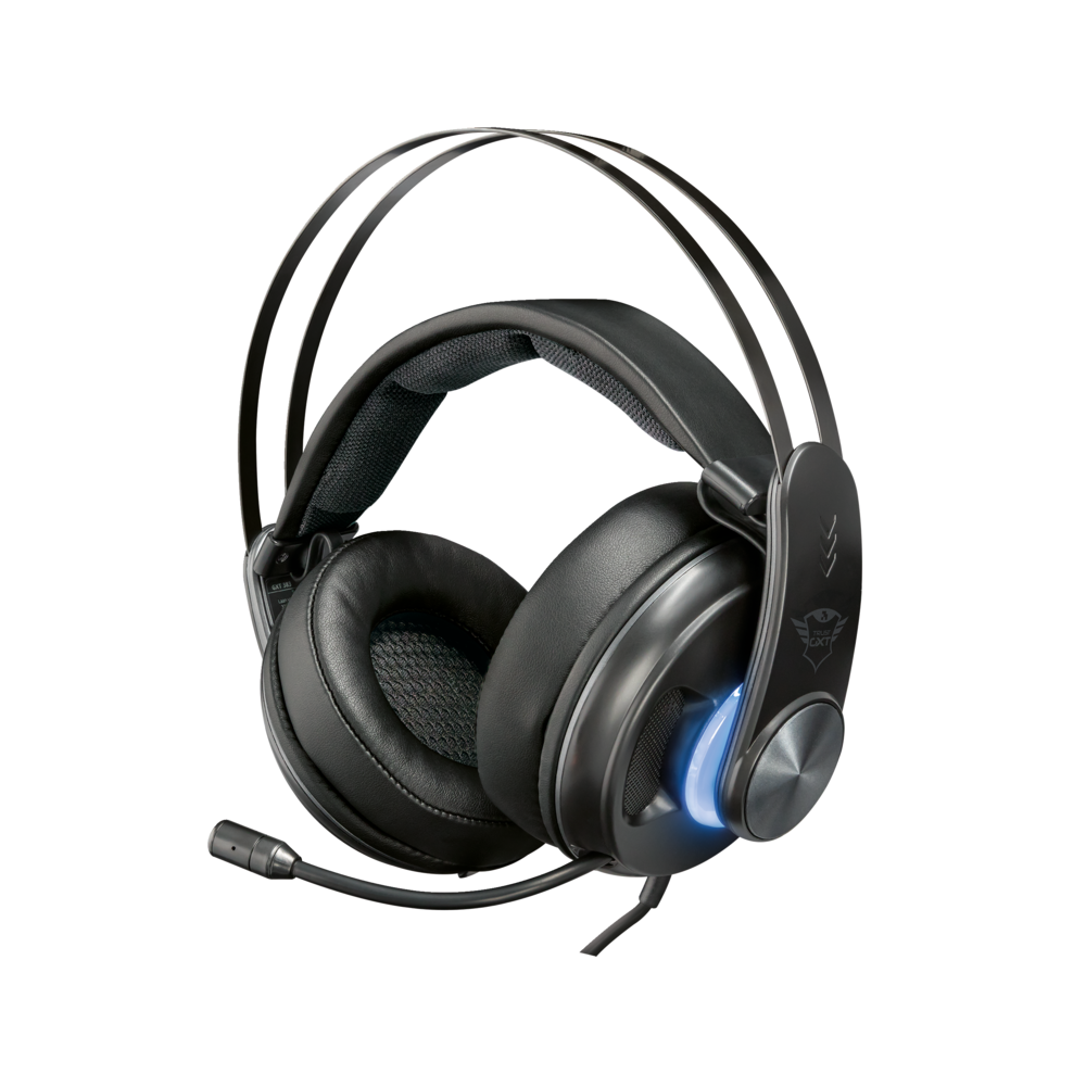 Trust Gaming GXT 383 Dion 7.1 Bass Vibration wired headphones