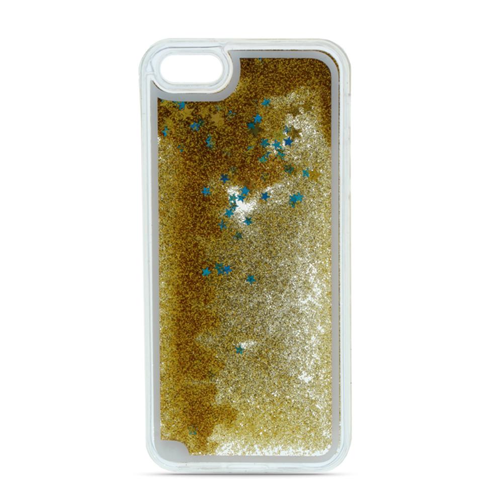 Liquid Glitter TPU case for Xiaomi Redmi 6A gold