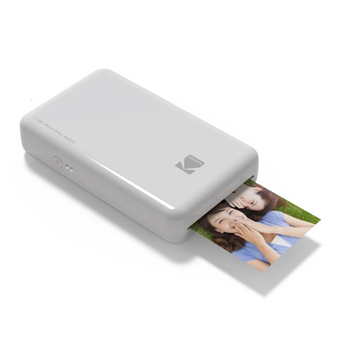 Kodak Mini 2 drukarka zdjęć do telefonu / smartfona biała