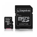 Karta pamięci Kingston microSDCX 64GB z adapterem klasa 10
