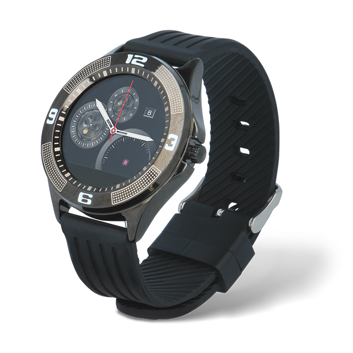Forever smart watch SW-100 czarny (1)
