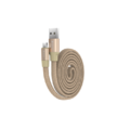 Kabel DEVIA Ring Y1 micro USB champagne gold